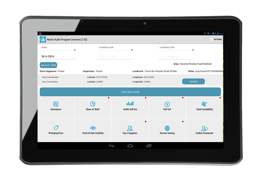 Stock Audit Software   Sales Auditing App, India